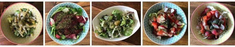 Bowl Rezepte einfach, Food Bowl Inspirationen, Salat Bowls, Bibimbap Bowl selber machen, Super Twins Food Bowls