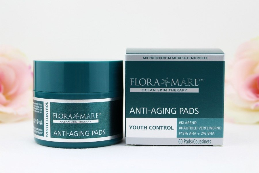 Flora Mare Pads, Flora Mare Anti-Aging Pads, Flora Mare AHA Pads, Flora Mare Peeling Pads, Flora Mare Glykolsäure Pads, Flora Mare Anti-Aging Pads mit AHA BHA, Flora Mare Anti-Aging Pads mit 12 AHA 2 BHA, Flora Mare Youth Control Anti-Aging Pads, Glykolsäure Peeling Erfahrungen, Super Twins Flora Mare Pads, Flora Mare Anti Aging Pads Super Twins, Super Twins Flora Mare, Super Twins Annalena und Magdalena