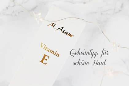 Best of Vitamin E gegen Falten, Entzündungen, trockene & zickige Haut