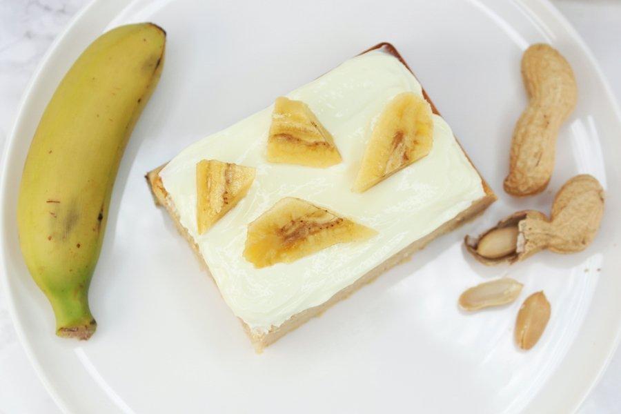 Bananenkuchen mit Proteinpulver, Bananenkuchen mit Apfelmus, Bananenkuchen mit Bohnen, Super Twins Annalena und Magdalena