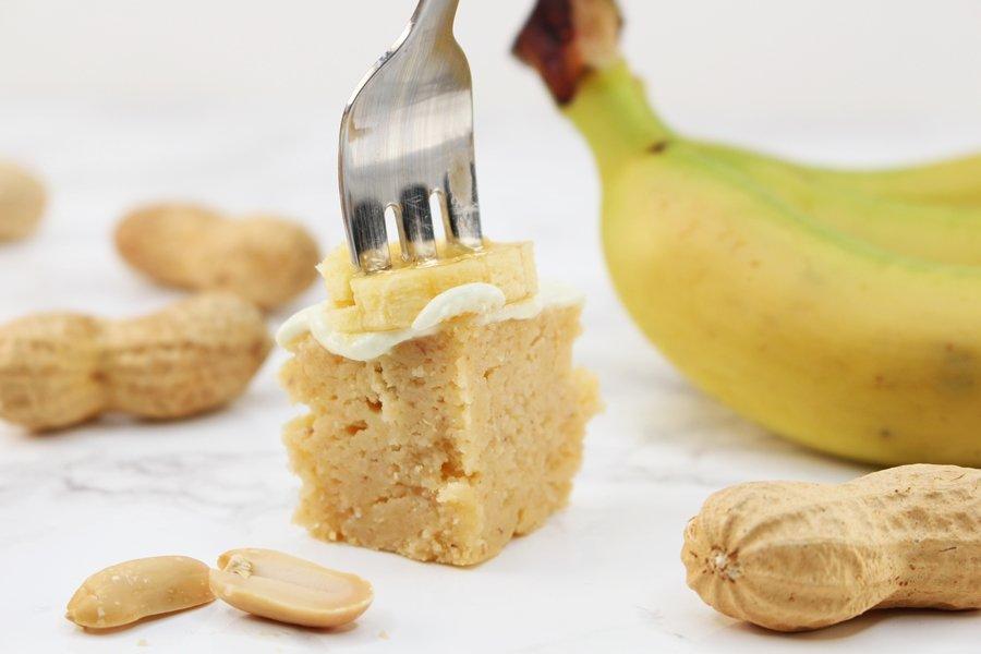 Low Carb Bananenkuchen, Bananenkuchen ohne Zucker, Erdnuss Bananen Kuchen, Super Twins Annalena und Magdalena