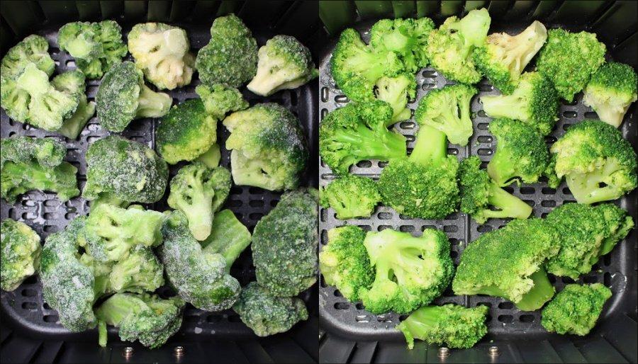 Cosori Airfryer 5.5l XXL Test, Cosori Heißluftfritteuse Rezepte, Airfryer Rezepte gesund, Airfryer Gemüse, Airfryer TK Brokkoli, Super Twins Airfryer, Super Twins Annalena und Magdalena