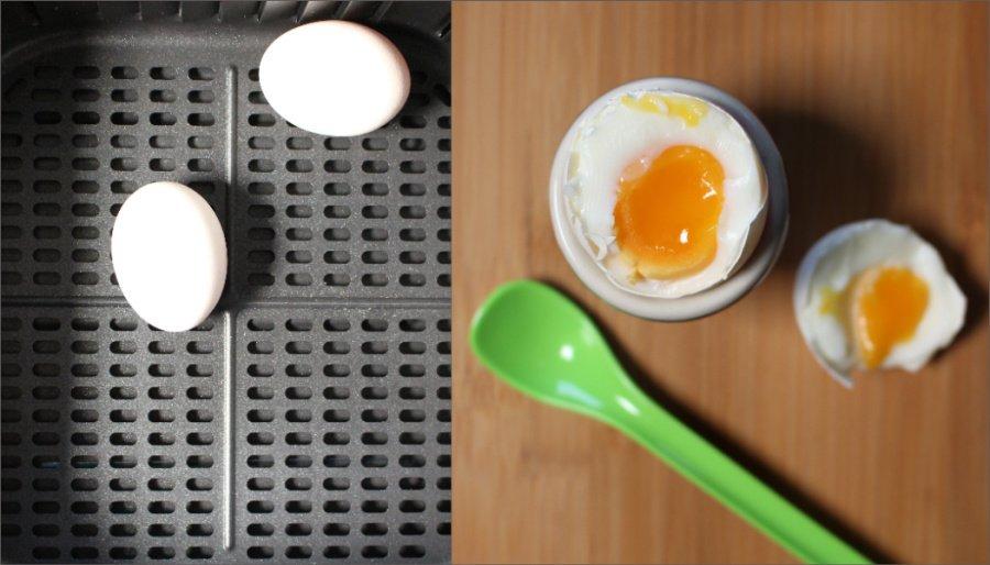 Cosori Air Fryer 5.5l XXL Test, Cosori Heißluftfritteuse Rezepte, Airfryer Rezepte gesund, Airfryer Rezepte Eier, Airfryer Frühstückseier, Airfryer Eier abkochen, Super Twins Airfryer, Super Twins Annalena und Magdalena