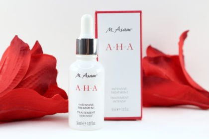 M. Asam AHA Intensive Treatment mit dreifacher (!) Peelingwirkung