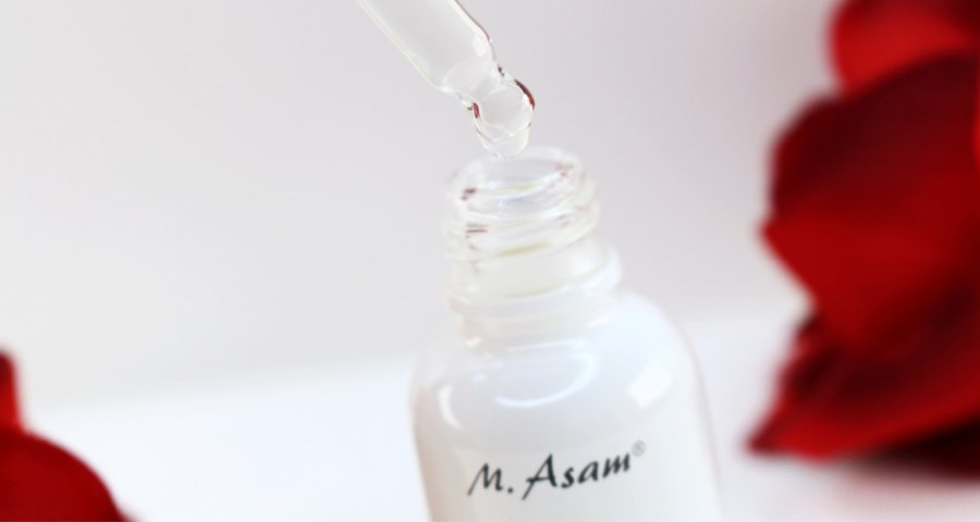 M. Asam AHA Intensive Treatment Review, M. Asam Fruchtsäurepeeling, Fruchtsäurepeeling gegen trockene Haut, AHA Peeling gegen Falten, Super Twins Annalena und Magdalena