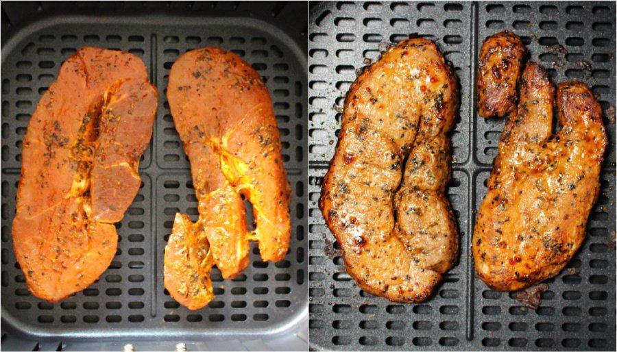 Cosori Airfryer 5.5l XXL Test, Cosori Heißluftfritteuse Rezepte, Airfryer Rezepte gesund, Airfryer Steak, Super Twins Airfryer, Super Twins Annalena und Magdalena