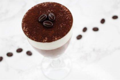 Zum Weglöffeln: Intensive Kaffee Mousse au Chocolat mit Sahnecreme