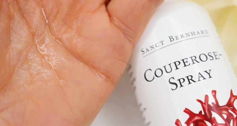 Sanct Bernhard Couperose Spray Test, Couperose Spray Erfahrungen, Pflege gegen Rötungen, Couperose Gesicht was hilft, Rosacea Akne was hilft, Hautpflege ohne Duftstoffe, Super Twins Annalena und Magdalena