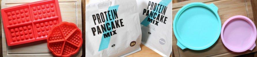 Myprotein Pancake Mix beste Sorte, Protein Pancake Mix Myprotein Zubereitung, Silikon Waffelform, Silikon Pancake Form, Super Twins Annalena und Magdalena